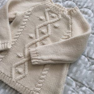 4/$20! Old Navy | Baby girl cotton knit pullover